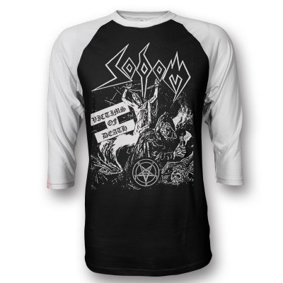 sodom - Victims Of Death Raglan (Black Body)