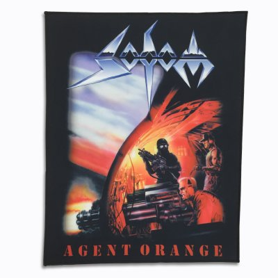 Sodom - Agent Orange Back Patch