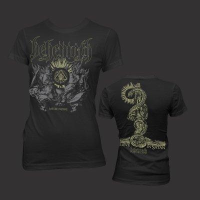 valhalla - Women's - Messe Noir T-Shirt (Black)