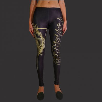 behemoth - Gold Fire Leggings