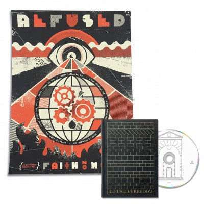 Refused - Faith No More Tour Print + Freedom Deluxe CD Bundle
