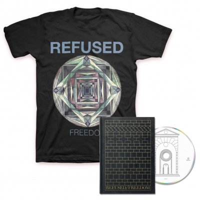 Refused - Elektra Tee + Freedom Deluxe CD Bundle