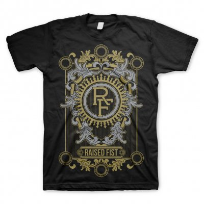 raised-fist - Shield T-Shirt (Black)