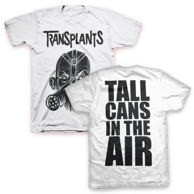 The Transplants - Tall Cans T-Shirt (White)