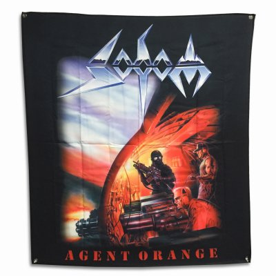 "valhalla - Agent Orange Flag (48"" x 48"")"