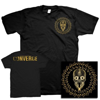 Converge - Thousands Of Miles Between Us (Blu Ray)+ Skull Badge Print T-Shirt Bundle
