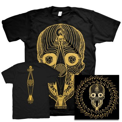 Converge - Thousands Of Miles Between Us (Blu Ray)+ Skull T-Shirt Bundle