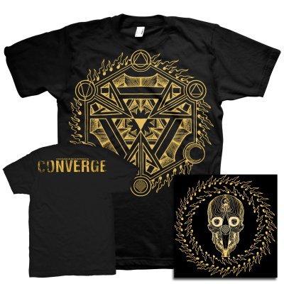 Converge - Thousands Of Miles Between Us (Blu Ray)+ Symbol Print T-Shirt Bundle