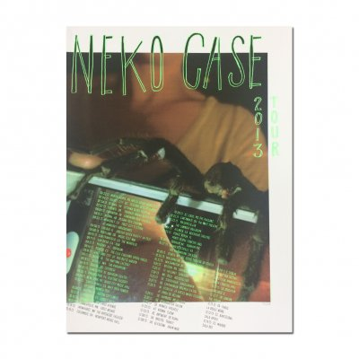 neko-case - 2013 Screen Print Tour Poster