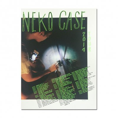 Neko Case - 2014 Screen Print Tour Poster