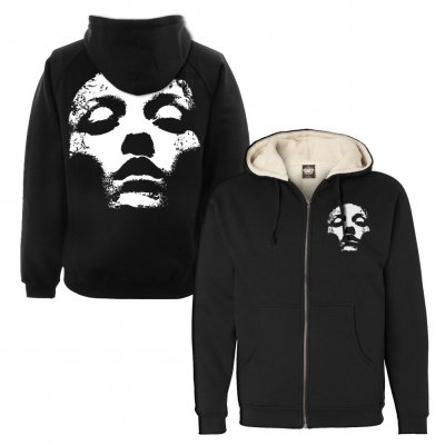 Converge - Jane Doe Sherpa Zip Up (Black)