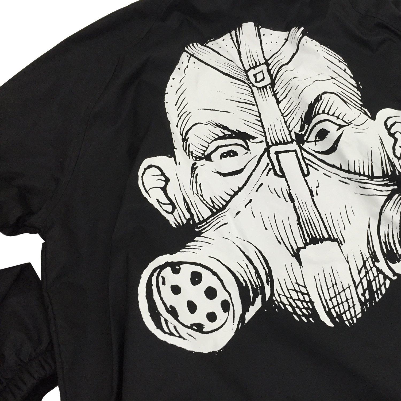 IMAGE   Gas Mask Windbreaker (Black)