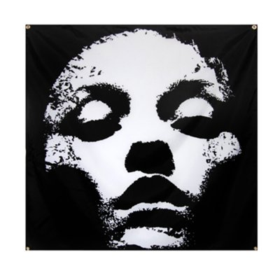 "epitaph-records - Jane Doe Face - 46""x46"" Flag"
