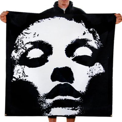 "Converge - Jane Doe Face - 46""x46"" Flag"