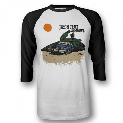 jason-cruz-and-howl - Cactus On My Car Baseball Tee