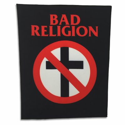 Bad Religion - Crossbuster Back Patch