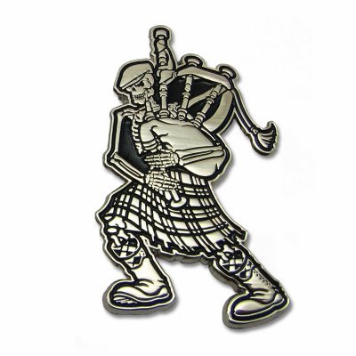 dropkick-murphys - Skelly Piper Enamel Pin