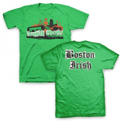 dropkick-murphys - Boston Irish Collage Tee