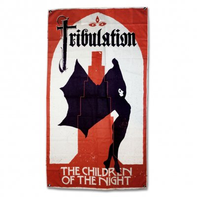 tribulation - Children Of The Night Flag