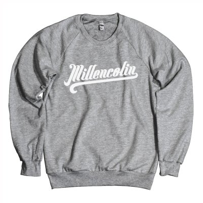 millencolin - Baseball Crewneck (Heather Grey)