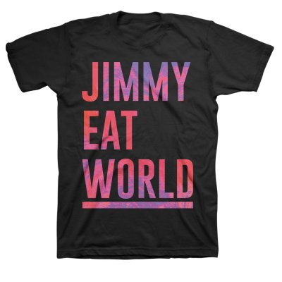 Jimmy Eat World - Stacked Logo T-Shirt (Black)