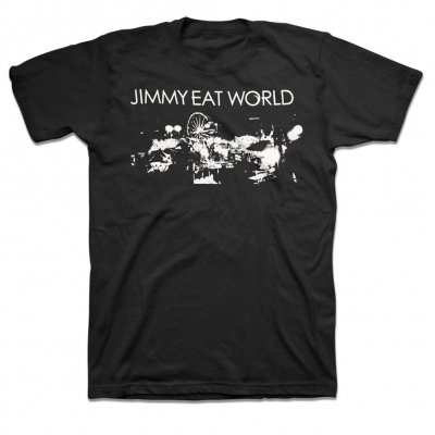 jimmy-eat-world - Fair T-Shirt (Black)