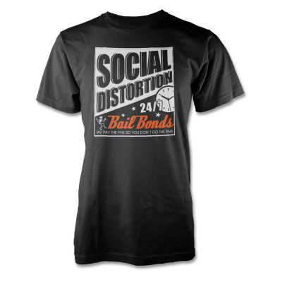 social-distortion - Bail Bonds T-Shirt (Black)