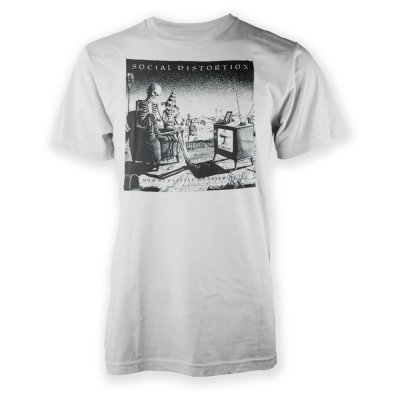 social-distortion - Mommy's Little Monsters T-Shirt (White)
