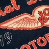 IMAGE | Motorcycle Company Logo T-Shirt (Black) - detail 2