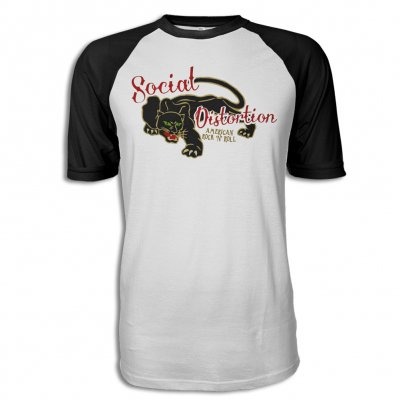 social-distortion - Panther S/S Raglan