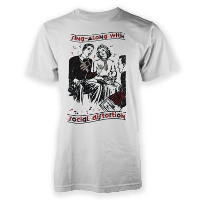 social-distortion - Sing-A-Long T-Shirt (White)