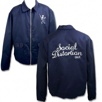 social-distortion - Speedway Jacket (Navy)