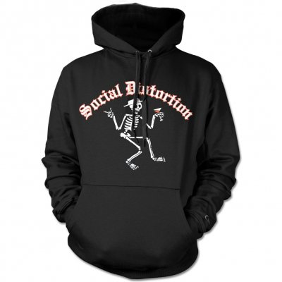 social-distortion - Skelly Pullover Hoodie (Black)