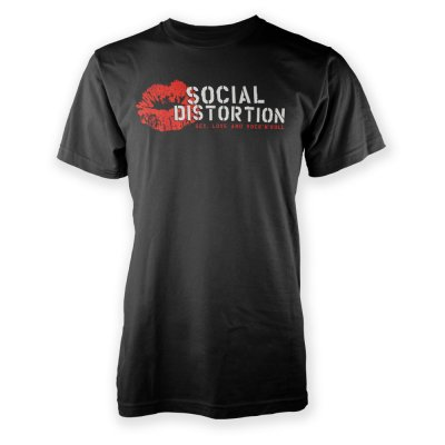 social-distortion - Sex, Love, Rock N' Roll T-Shirt (Black)