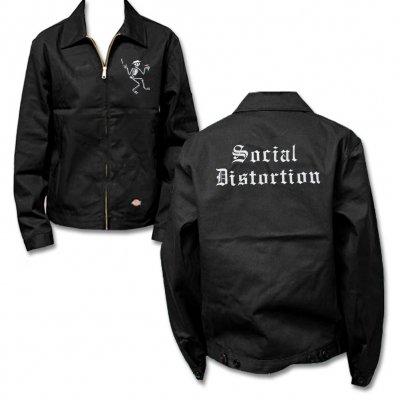 IMAGE   Embroidered Skelly Work Jacket