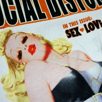 social-distortion - Cigarette Girl T-Shirt - Women's (Charcoal)