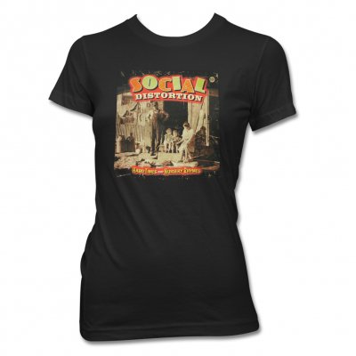 Social Distortion - Hard Times & Nursery Rhymes T-Shirt - Women's (Bla