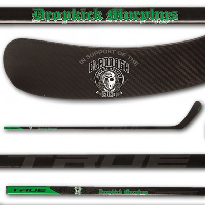 dropkick-murphys - TRUE Hockey Stick - Claddagh Fund Benefit
