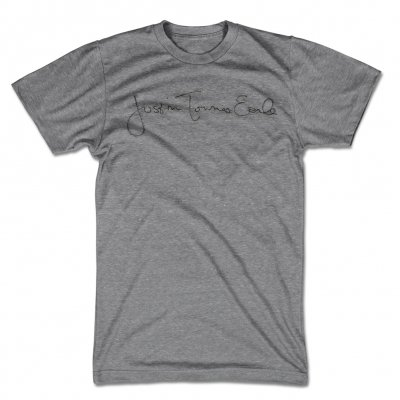 justin-townes-earle - Signature T-Shirt (Heather Grey)