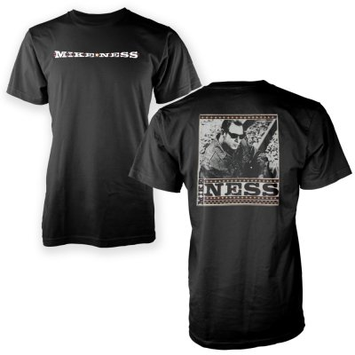 mike-ness - Photo T-Shirt (Black)