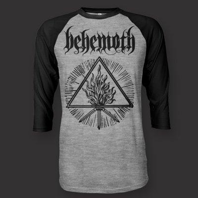 Behemoth - Trinity Raglan (Heather/Black)
