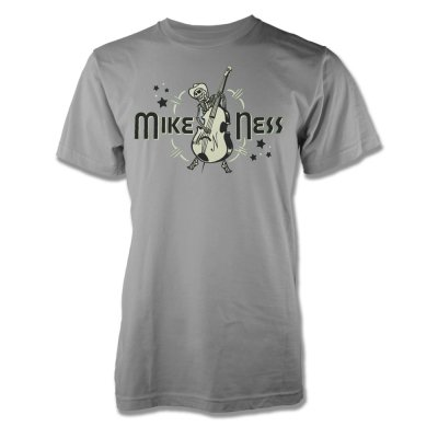 mike-ness - Mike Ness Cloud Burst Skelly T-Shirt (Light Gray)
