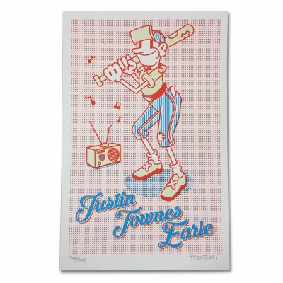 justin-townes-earle - Baseball Poster