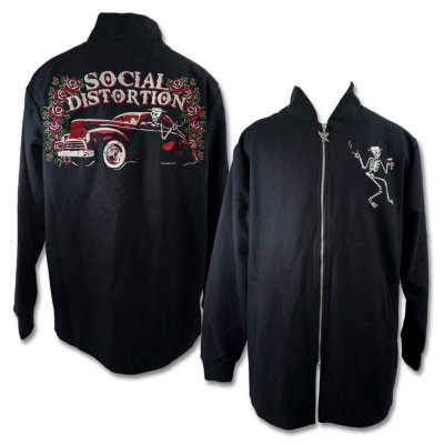 social-distortion - Car Club Coat - Roses