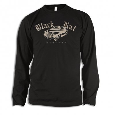 black-kat-kustoms - Mercury Longsleeve Tee