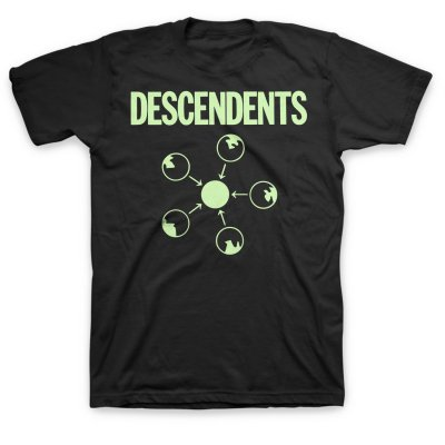 descendents - Somery Tee (Black)
