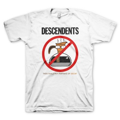 descendents - Thou Shall Not Tee (White)