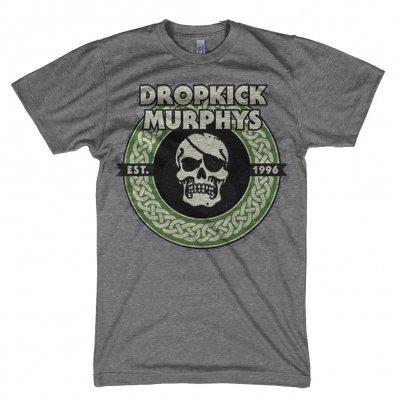 Dropkick Murphys - 1996 Vintage Circle Skull Tee