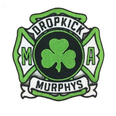 Dropkick Murphys - Service Patch (Green)