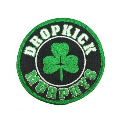 "dropkick-murphys - DKM Shamrock Patch 3"" Round"